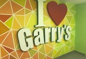 Дизайн интерьера кафе Garry's ул. Жуковского