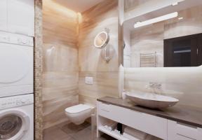 Дизайн интерьера квартиры в Крыму 79 м2