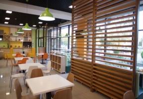 Дизайн интерьера кафе Garry's ул. Набережная в Симферополе