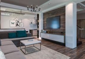 Дизайн интерьера дома 200 м2 в Симферополе