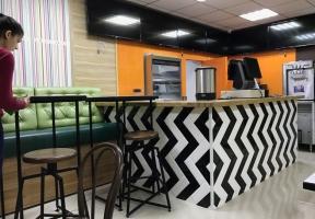 Дизайн интерьера кафе Garry's в Красноперекопске (Крым)